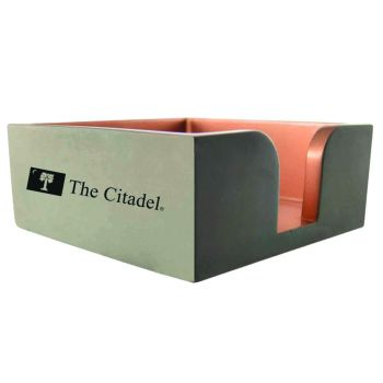 The Citadel-Concrete Note Pad Holder-Grey