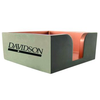 Davidson College-Concrete Note Pad Holder-Grey