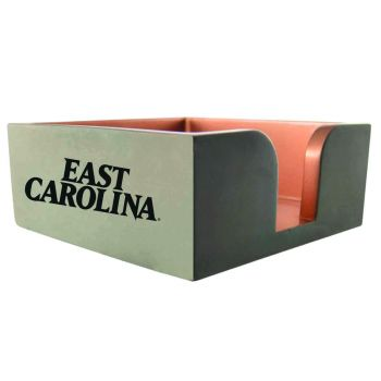 East Carolina University-Concrete Note Pad Holder-Grey