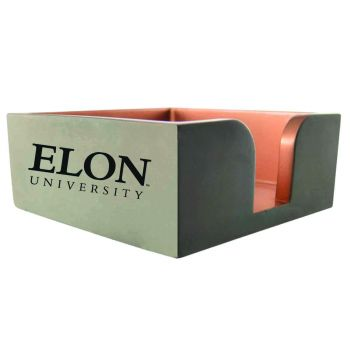 Elon University-Concrete Note Pad Holder-Grey