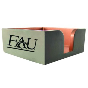 Florida Atlantic University-Concrete Note Pad Holder-Grey