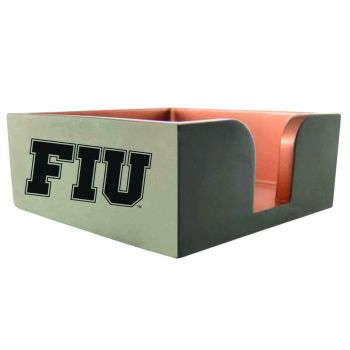 Florida International University-Concrete Note Pad Holder-Grey