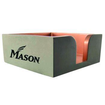 George Mason University -Concrete Note Pad Holder-Grey