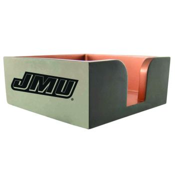 James Madison University-Concrete Note Pad Holder-Grey