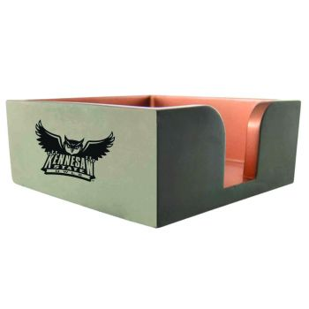 Kennesaw State University-Concrete Note Pad Holder-Grey