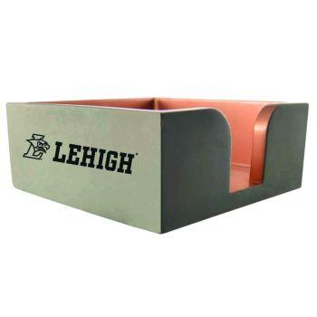 Lehigh University-Concrete Note Pad Holder-Grey