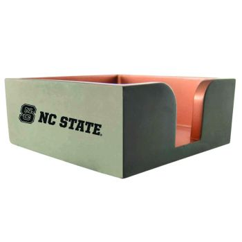 North Carolina State University-Concrete Note Pad Holder-Grey