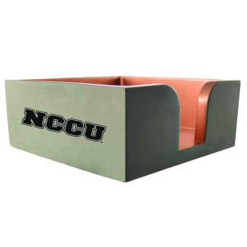 North Carolina Central University -Concrete Note Pad Holder-Grey