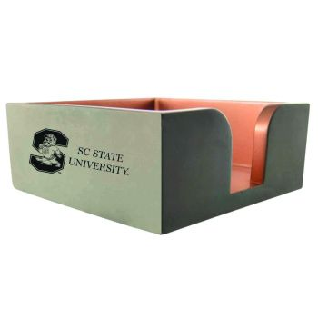 South Carolina State University-Concrete Note Pad Holder-Grey