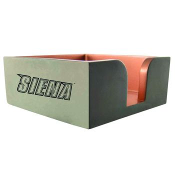 Siena College-Concrete Note Pad Holder-Grey