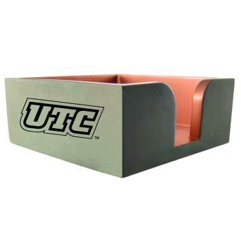 University of Tennessee at Chattanooga-Concrete Note Pad Holder-Grey