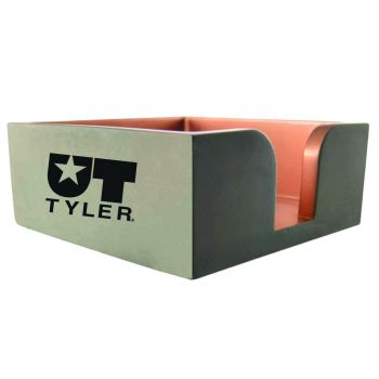 University of Texas at Tyler-Concrete Note Pad Holder-Grey
