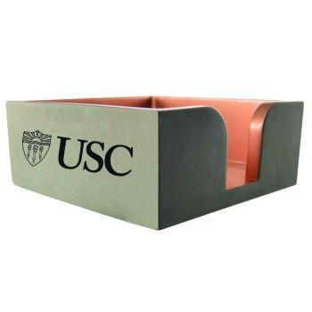 University of Southern California-Concrete Note Pad Holder-Grey