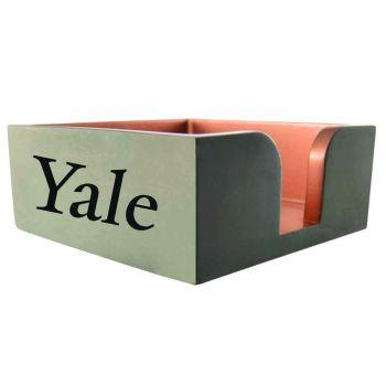 Yale University-Concrete Note Pad Holder-Grey