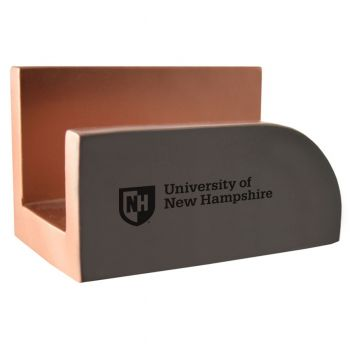 University of New Hampshire-Concrete Business Card Holder-Grey