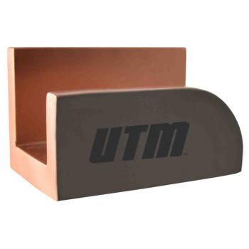 University of Tennessee at Martin-Concrete Business Card Holder-Grey