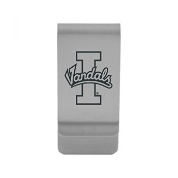 University of Idaho |Money Clip with Contemporary Metals Finish|Solid Brass|High Tension Clip to Securely Hold Cash, Cards and ID's|Gold