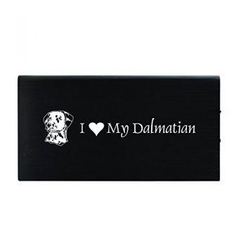 Quick Charge Portable Power Bank 8000 mAh  - I Love My Dalmatian