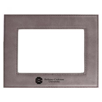 Bethune-Cookman University-Velour Picture Frame 4x6-Grey
