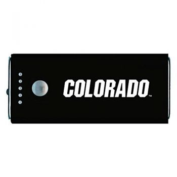 University of Colorado -Portable Cell Phone 5200 mAh Power Bank Charger -Black