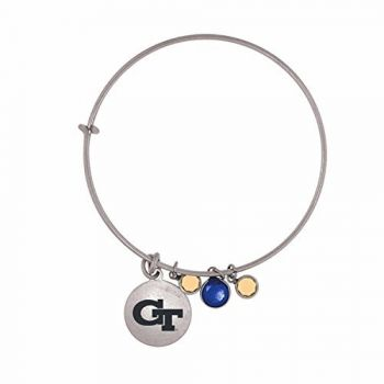 Georgia Institute of Technology-Frankie Tyler Charmed Bracelet