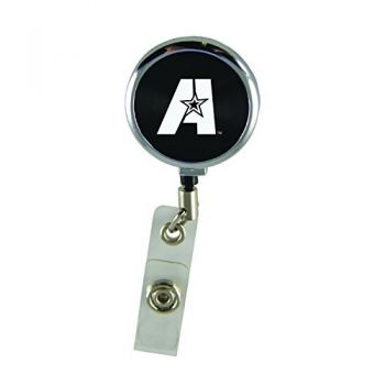 Louisiana State University of Alexandria-Retractable Badge Reel-Black