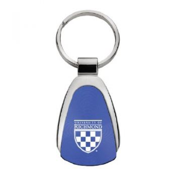 University of Richmond - Teardrop Keychain - Blue