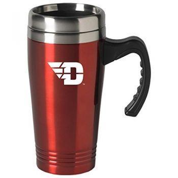 University of Dayton-16 oz. Stainless Steel Mug-Red