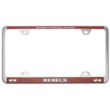 University of Nevada Las Vegas-Metal License Plate Frame-Red
