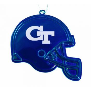 Georgia Institute of Technology - Christmas Holiday Football Helmet Ornament - Blue