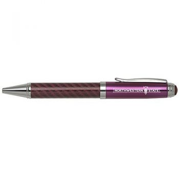 Northwestern State University -Carbon Fiber Mechanical Pencil-Pink