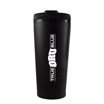 Oral Roberts University -16 oz. Travel Mug Tumbler-Black