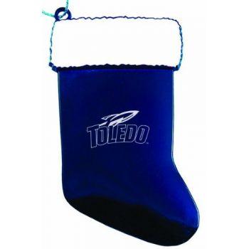 University of Toledo - Christmas Holiday Stocking Ornament - Blue