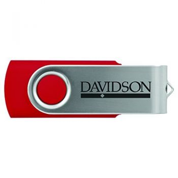 Davidson College-8GB 2.0 USB Flash Drive-Red