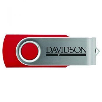 Davidson College-8GB 2.0 USB Flash Drive-Red