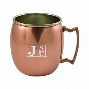 Jackson State University-16 oz. Copper Mug