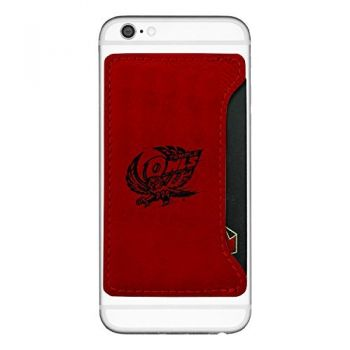 Temple University -Cell Phone Card Holder-Red