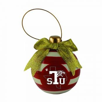 Texas Southern University -Christmas Bulb Ornament