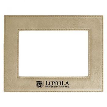 Loyola University Chicago-Velour Picture Frame 4x6-Tan