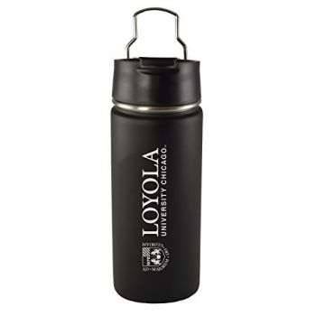 Loyola University Chicago -20 oz. Travel Tumbler-Black