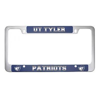 University of Texas at Tyler-Metal License Plate Frame-Blue