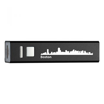 Quick Charge Portable Power Bank 2600 mAh - Boston City Skyline