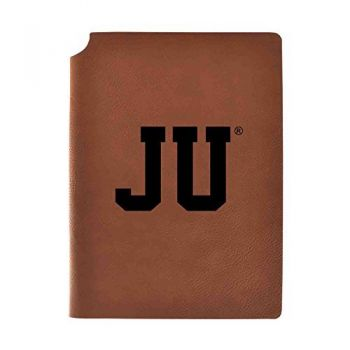Jacksonville University Velour Journal with Pen Holder|Carbon Etched|Officially Licensed Collegiate Journal|