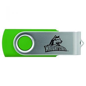 Wright State university -8GB 2.0 USB Flash Drive-Green