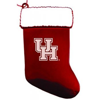 University of Houston - Chirstmas Holiday Stocking Ornament - Red