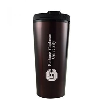 Bethune-Cookman University-16 oz. Travel Mug Tumbler-Burgundy