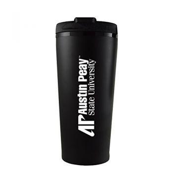 Austin Peay State University -16 oz. Travel Mug Tumbler-Black
