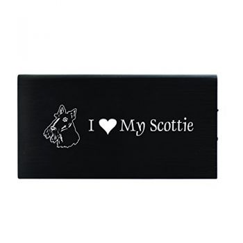 Quick Charge Portable Power Bank 8000 mAh  - I Love My Scottish Terrier