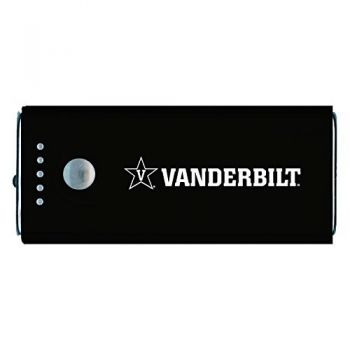 Vanderbilt University -Portable Cell Phone 5200 mAh Power Bank Charger -Black