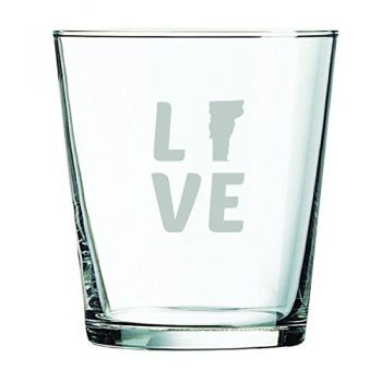 13 oz Cocktail Glass - Vermont Love - Vermont Love